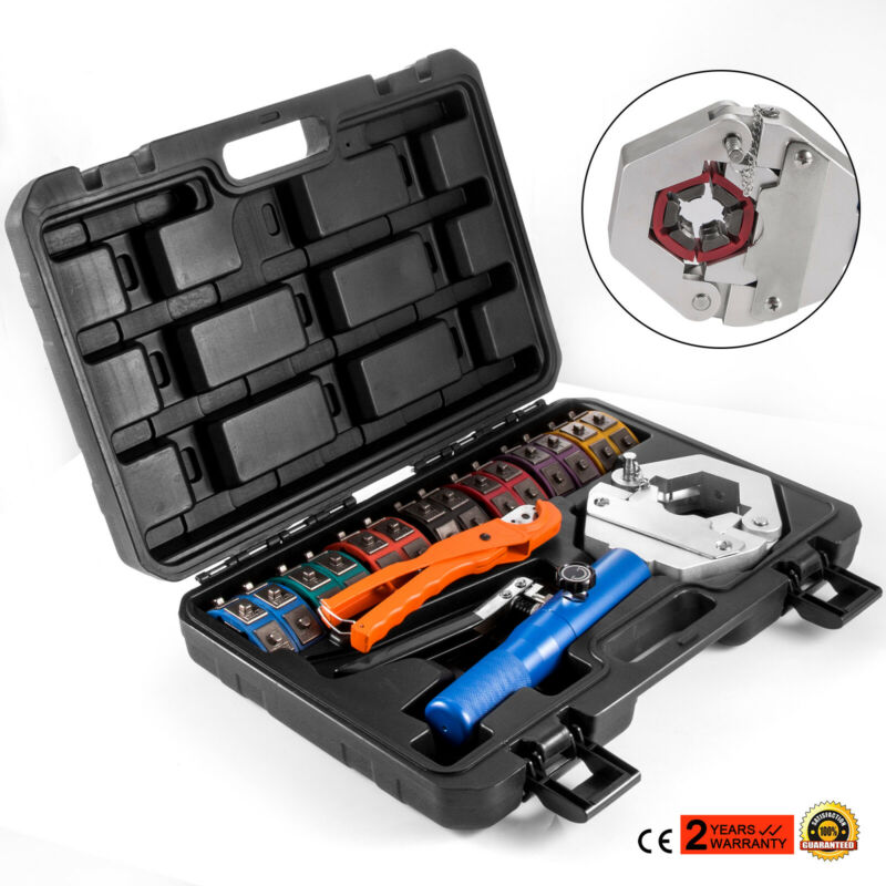 71500 Hydraulic Crimper Hose Crimper Auto A/C Hose Crimping Tools Kit