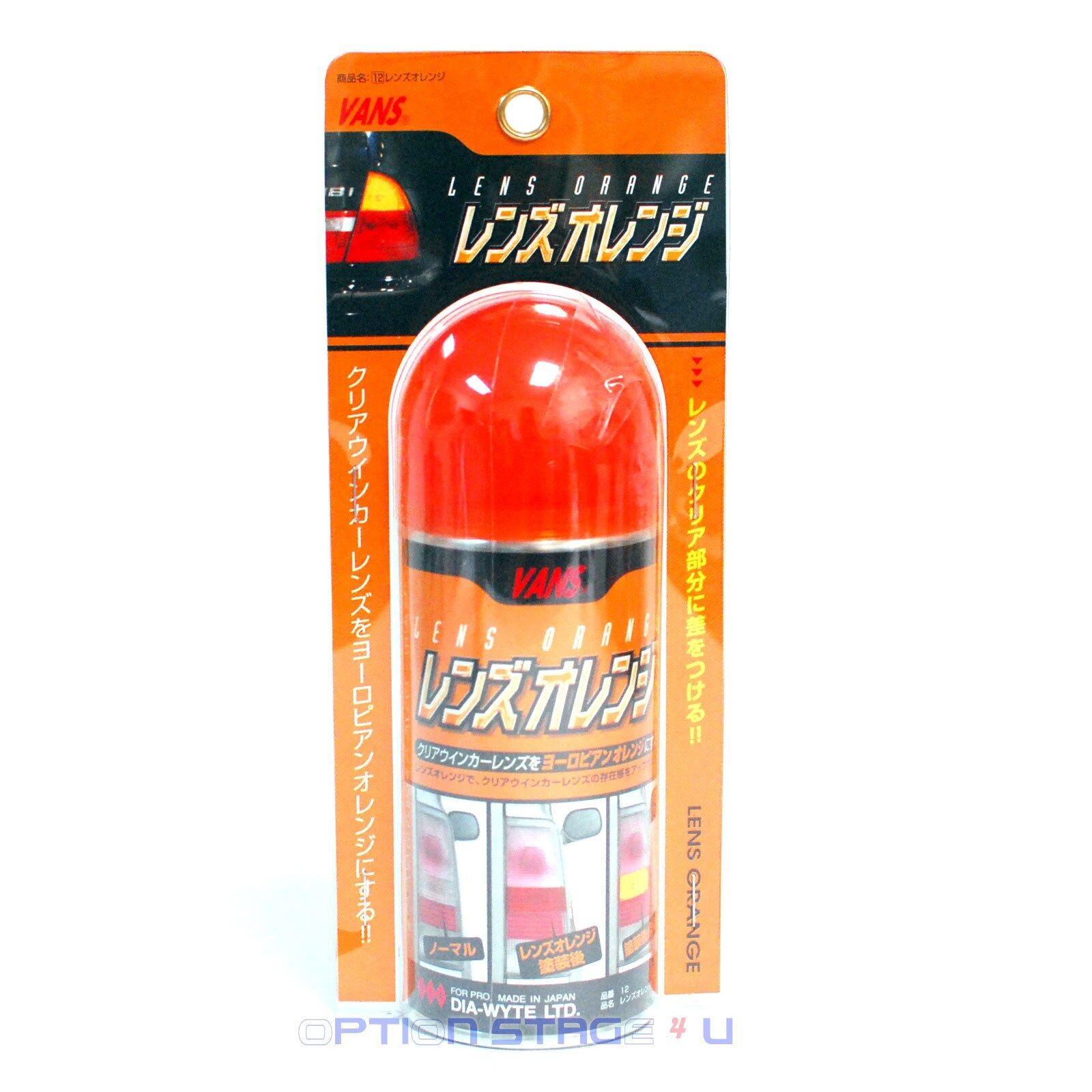 Vans Jdm Orange Lens Spray Paint Headlight Taillight Fog