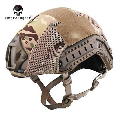 214bf5702a5 EMERSON Fast Helmet Cover Tactical Protective Mesh Cover Helmet Accessories  8809