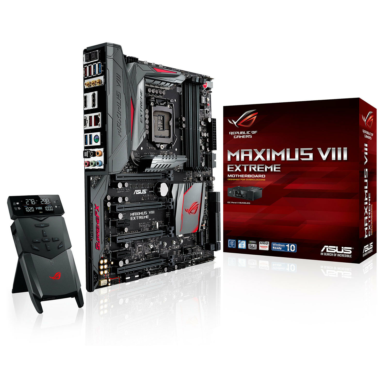 Asus Maximus Viii Extreme - Atx Motherboard For Intel Socket 1151 Cpus