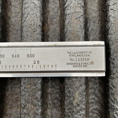 Starrett Master Vernier No. 123 Em Caliper 650mm 26.5