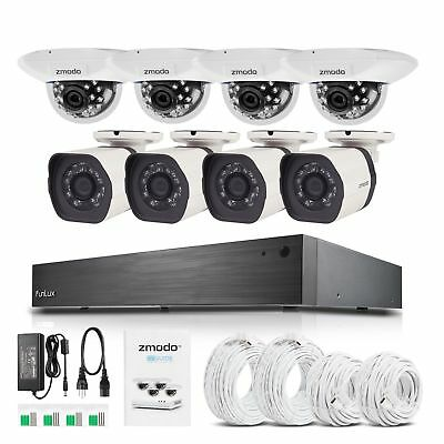 16 CH 1080p NVR 720p Outdoor/Indoor Camera Home Security System No HDD Clearance