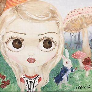 Original Acrylic Paintings Fairy Tale Art