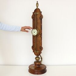 WUBA GRAVITY FLOOR Clock Antique RARE PIECE! HIGHLY COLLECTABLE Germany Pendulum