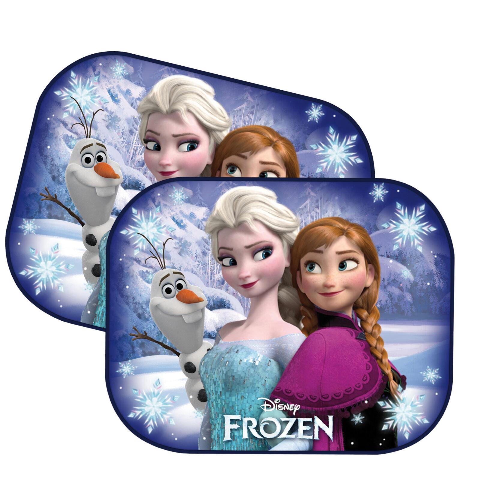 2 x Disney Frozen Car Sun Shade UV Baby Children Kids Window Visor 12