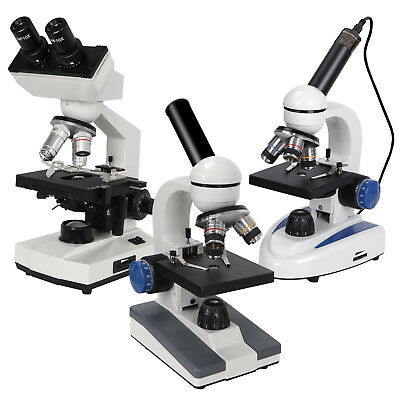 Multiple Choice Biological Science Student Compound Microscope 40x-1000x2000x
