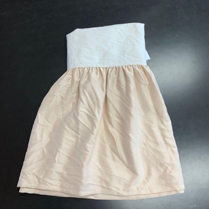 Restoration Hardware Baby & Child Washed Satin Crib Skirt Petal Pink Girl