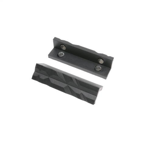 Magnetic 4 Inch Length Multi Purpose Vise Jaws Pad Metal Vic