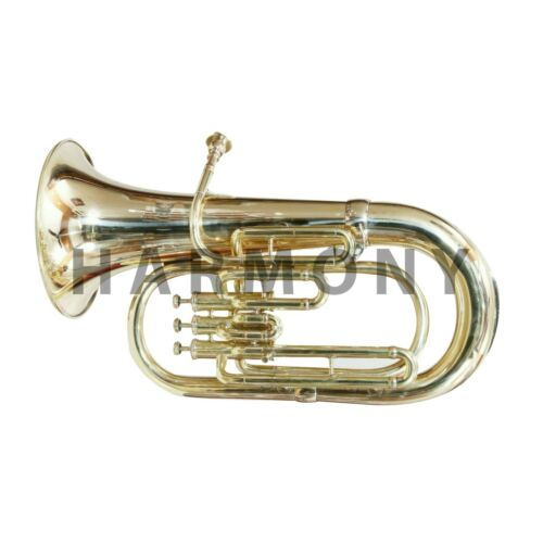 Professional Bb Euphonium 3 Valves Brass Expert's Choice with Case & MP