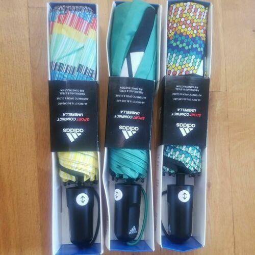 "Adidas Sport Compact 46"" Umbrella!!!""Auto Open And Close (Assorted Colors)"