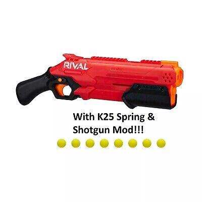 Modded SUPER TAKEDOWN - Nerf Rival Blaster w/ K25 Spring Modded Shotgun Upgrade