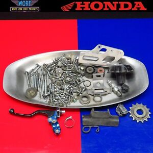 2002 CR250 Hardware Gas Cap Chain Roller Guide Clutch Lever Front Sprocket Bolts