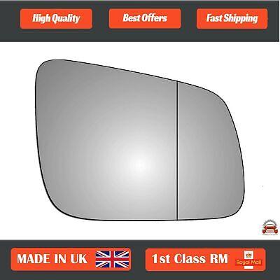 For Mitsubishi Lancer 1991-2003 left passenger side wing door mirror glass