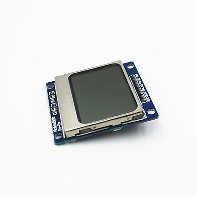 5pcs Lcd 5110 Blue Backlight Nokia 5110 Lcd Module With Adapter Pcb For Arduino