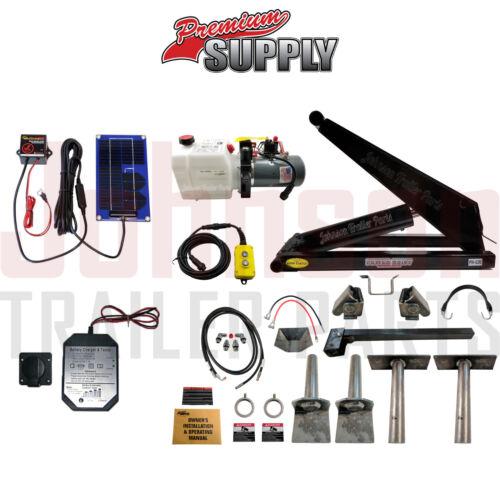 10 Ton Hydraulic Scissor Hoist Kits   PH520   Perfect for Dump Trailers & Trucks