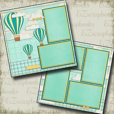 Lazy Days   2 Premade Scrapbook Pages   Ez Layout 44