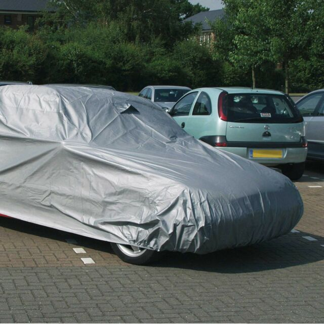 Sealey Car Rain Double Layer Protection Cover-X-Large-4830 x 1780 x 1220mm- CCXL