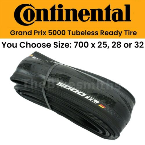 Continental Grand Prix GP 5000 TL 700 Tubeless Bike Tire 25 28 32 (Abused Boxes)