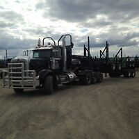 Looking for Log truck driver