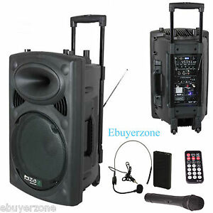 Ibiza-700W-BATTERY12V-PORTABLE-PA-ACTIVE-12-SPEAKER-Bluetooth-USB-WIRELESS-MIC