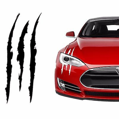 Best Seller Headlight Scratch Stripe Scar Monster Vinyl Decal For Car Suv Truck