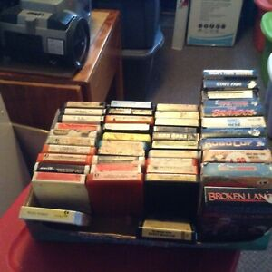 8 track tapes and more!!!