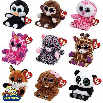 TY Peek-A-Boo - TY Boo Plush Teddy - Mobile Phone Holder Soft Toys