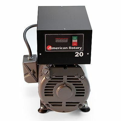 American Rotary Phase Converter Ar20f - Floor Unit 20 Hp Made Is Usa