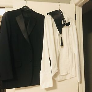 Tuxedo worn once - excellent condition!
