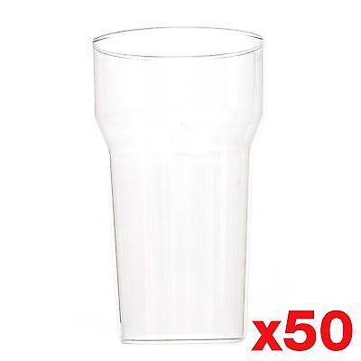 10 Unze / 1/2 Pint Plastik Wiederverwendbar Gläser Tassen Ce-Kennzeichnung ()