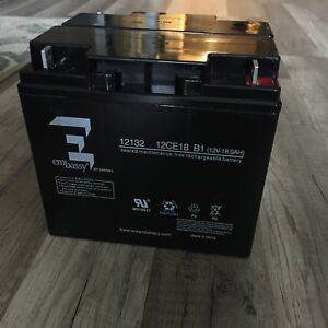 Embassy by Crown Rechargeable battery 2 in one 12 V EA