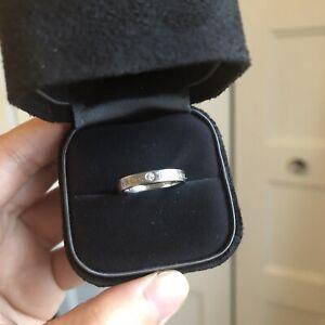 Authentic Brand New Tiffany Diamond Ring bague diamant
