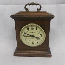 Howard Miller Wooden Carriage Desk Mantle Alarm Clock Quartz