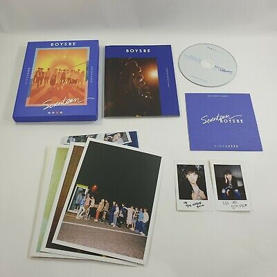 SEVENTEEN 2nd Mini album Boys Be CD Booklet Wonwoo Photocard K-POP Seek version