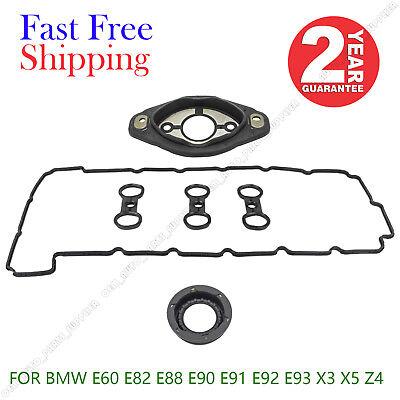 FOR BMW 3.0L E60 E82 E88 E90 E91 E92 E93 X3 X5 Z4 VALVE COVER GASKET KIT SET