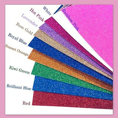 Glitter Foam Sheets (EVA Foam Sheets Self-Adhesive Glitter Eva for Arts and Crafts Cosplay- 10PK   )