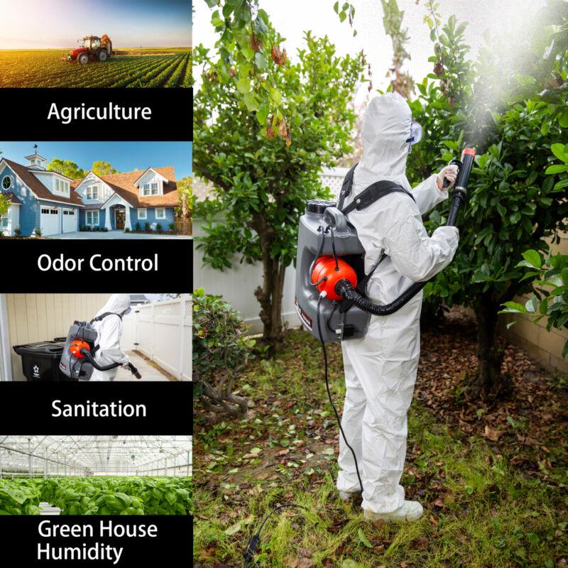 110v Electric Backpack DisinfectantV Cold Fogger Machine - Sanitizer Sprayer