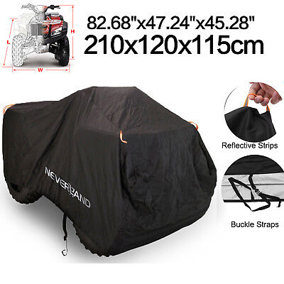 NEVERLAND XL ATV Cover Waterproof 4X4 Fits Honda Yamaha Suzuki Kawasaki Polaris for sale  USA