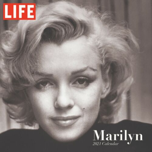 2021 LIFE Photography - Marilyn Monroe Wall Calendar - Officially Licensed 12x12