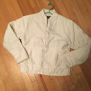 Size small microfibre insulated jacket size small coat winter