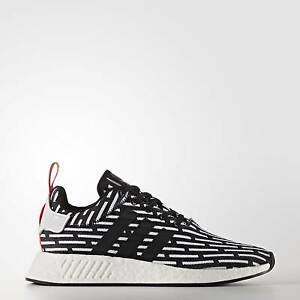 ADIDAS NMD R2 PK Black and white, Brand new in box Size US 10 Mawson Lakes Salisbury Area Preview