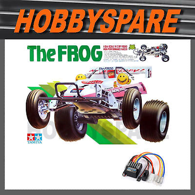 NEW TAMIYA THE FROG 1/10 RC 2WD OFFROAD BUGGY KIT 58354 w TBLE02 ESC BEST OF