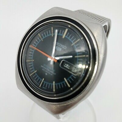 Seiko 5 Sports Rare 6106-8560 23J 70m 1970's automatic Working Vintage Watch