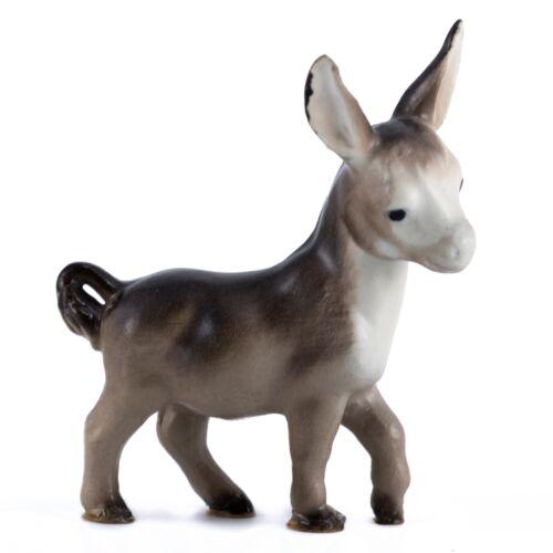 Vintage Hagen Renaker Mama Donkey #20 Miniature Figurine Matte Older Version