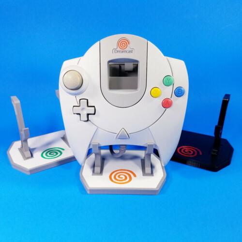 Sega Dreamcast Controller Display Stand - Custom 3D Printed - Multi Color Mounts