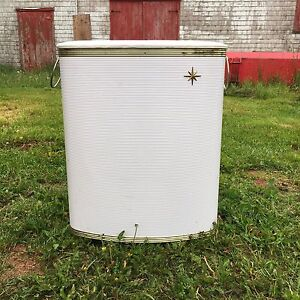 Two vintage laundry hampers - $30 and $35 or $50/both