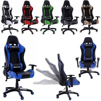 Racing Bürostuhl Gamer Sport Drehstuhl Schreibtischstuhl Stuhl Mesh Netzdesign
