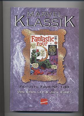 MARVEL KLASSIK # 4 - FANTASTIC FOUR / DIE FANTASTISCHEN VIER 1 - 10 - TOP