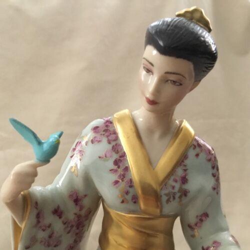 Franklin Mint MARIKO Princess Wisteria Blossoms Manabu Saito Figurine Statue