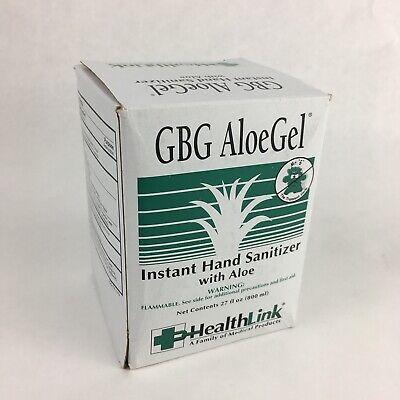 Hand Sanitizer Bag - McK GBG AloeGel Hand Sanitizer with Aloe Ethanol Gel Bag-in-Box 800 mL